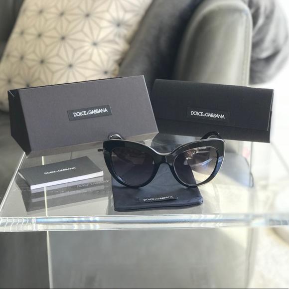 142e682686f Dolce   Gabbana 4287 Black 501-8G Sunglasses